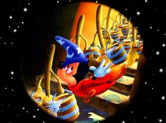 mickey dans fantasia